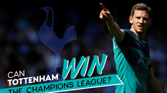 Can Tottenham win the Champions League?
